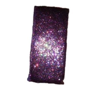 FREE W/ $20  Sparkly Glittery cosmetic brushes bag